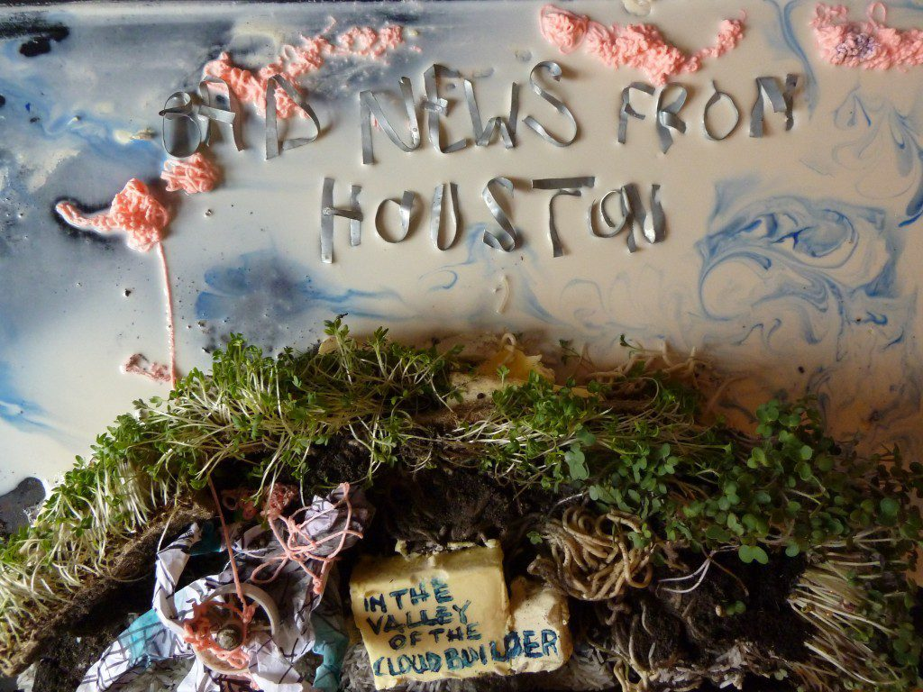 Bad News from Houston cover art by Tuia Cherici